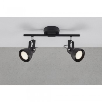 Nordlux 45730103 Aslak 2 Black Ceiling Light