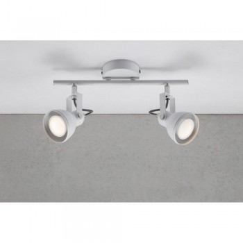 Nordlux 45730101 Aslak 2 White Ceiling Light