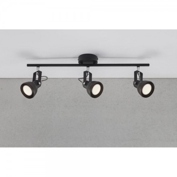 Nordlux 45740103 Aslak 3 Black Ceiling Light