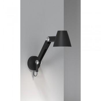 Nordlux DFTP 78371003 Black Cult Wall Light