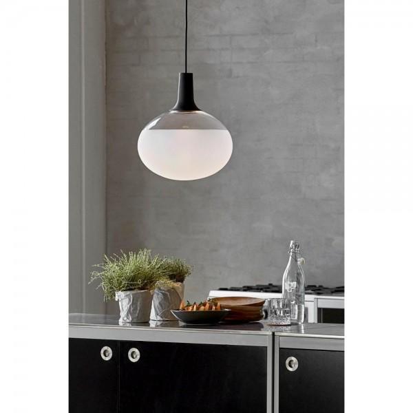 Nordlux DFTP 84383003 Black Dee Glass LED Pendant Light