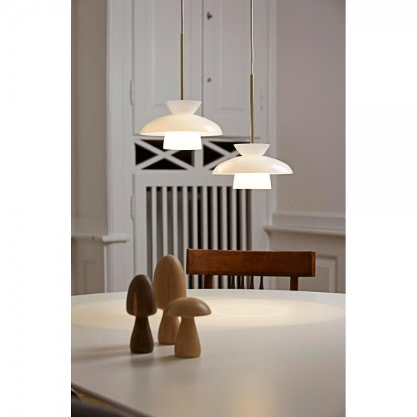 Nordlux DFTP 83033001 White Gloss LED Pendant Light