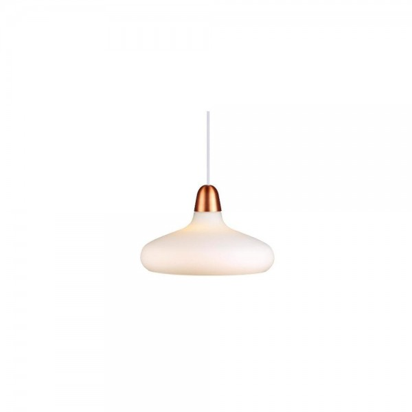 Nordlux DFTP 78183030 White and Copper/Brushed Steel Pendant Light