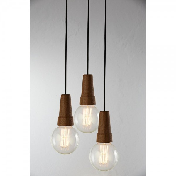 Nordlux DFTP 78433049 Walnut Karma Suspension Light