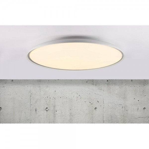 Nordlux DFTP 45316001 White La Luna 60 LED Ceiling Light