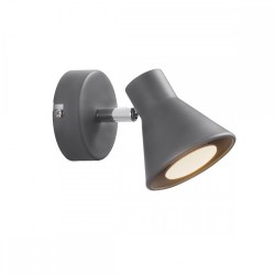 Nordlux 45761010 Eik Grey Wall Light