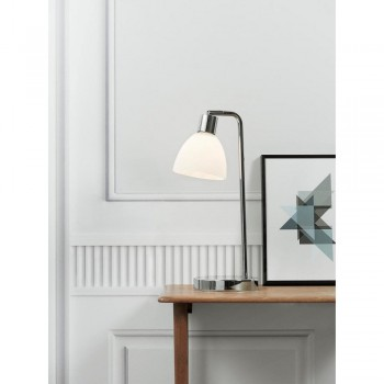 Nordlux 63201033 RAY Chrome/Opal Glass Lamp