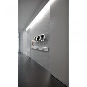 Nordlux DFTP 78471001 White IP S10 LED Bathroom Light
