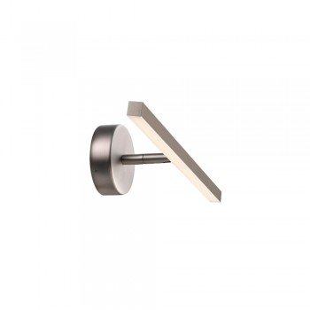 Nordlux DFTP 83061032 Brushed Steel IP S13 40 LED Bathroom Light