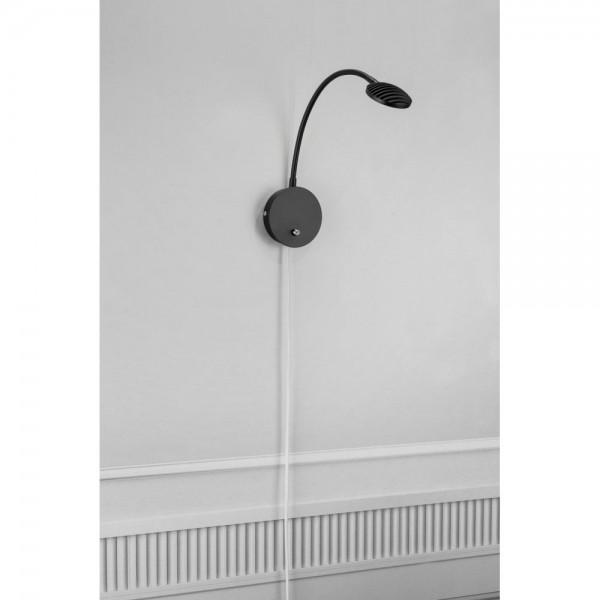 Nordlux 245130 Klarinett Black Wall Light