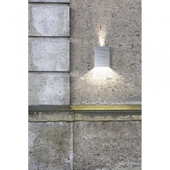 Nordlux DFTP 45401031 Galvanised Steel Fold Wall Light