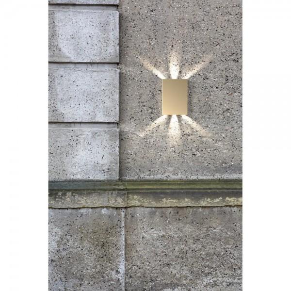 Nordlux DFTP 45401039 Brass Fold Wall Light
