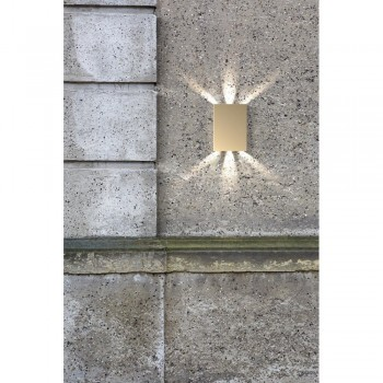 Nordlux DFTP 45401039 Brass Fold Wall Light