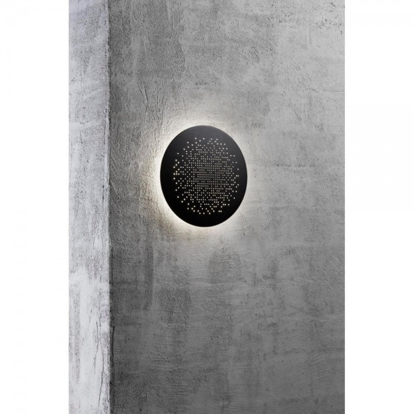 Nordlux DFTP 45451003 Black Hunt 19 LED Wall Light
