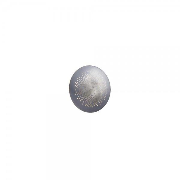 Nordlux DFTP 45451029 Aluminium Hunt 19 LED Wall Light
