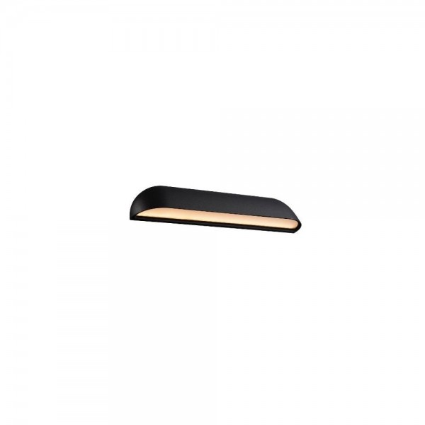 Nordlux DFTP 84091003 Black Front 36 LED Wall Light