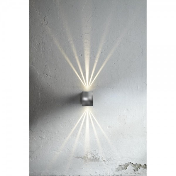 Nordlux DFTP 77521034 Stainless Steel Canto Kubi LED Wall Light