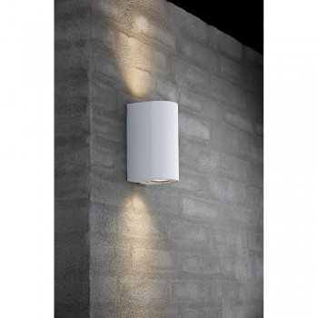 Nordlux DFTP 77561001 White Canto Maxi Wall Light