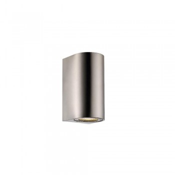 Nordlux DFTP 77561034 Stainless Steel Canto Maxi Wall Light