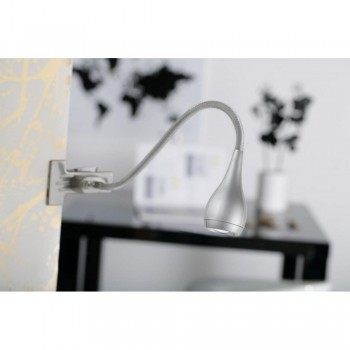 Nordlux Drop 320293 Silver Clamp Light