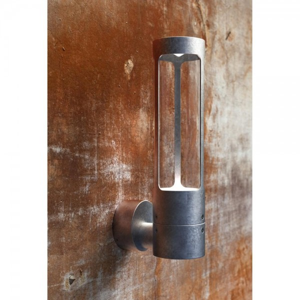 Nordlux DFTP 77471031 Galvanised Steel Helix Wall Light