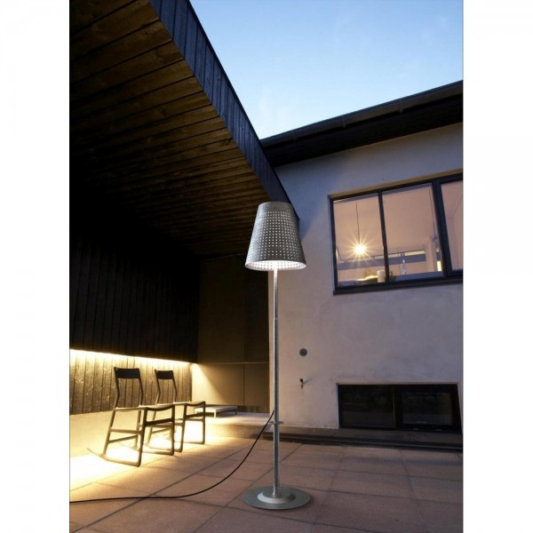 Fuse IP44 outdoor spear lamp excludes