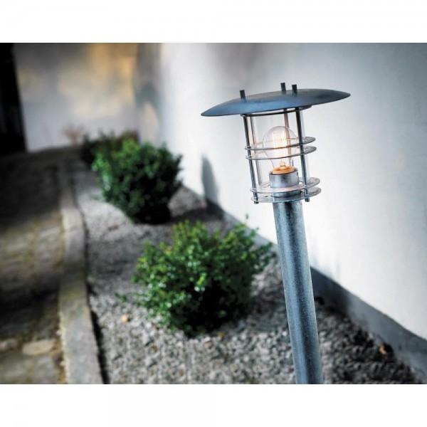 Nordlux DFTP 10620119 Galvanised Steel Fredensborg Garden Light