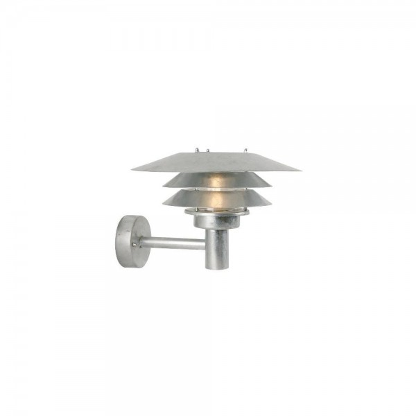 Nordlux DFTP 10600619 Galvanised Steel VENØ Wall Light