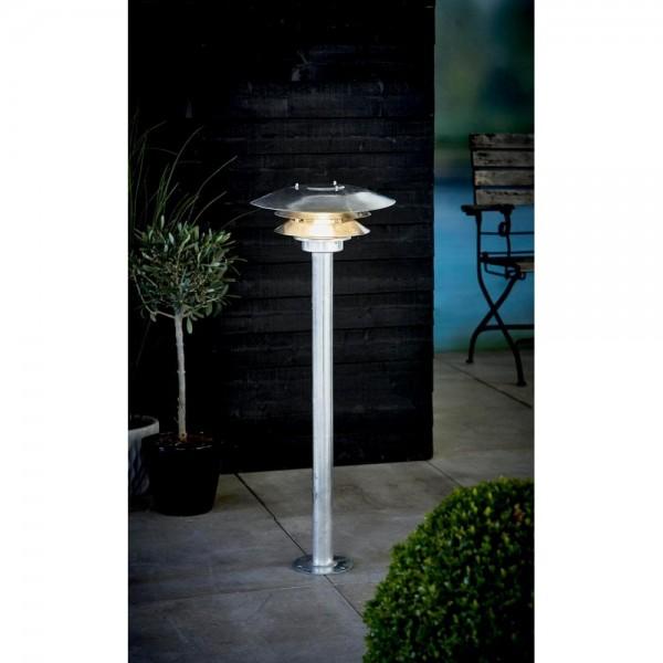 Nordlux DFTP 10600719 Galvanised Steel VENØ Garden Light