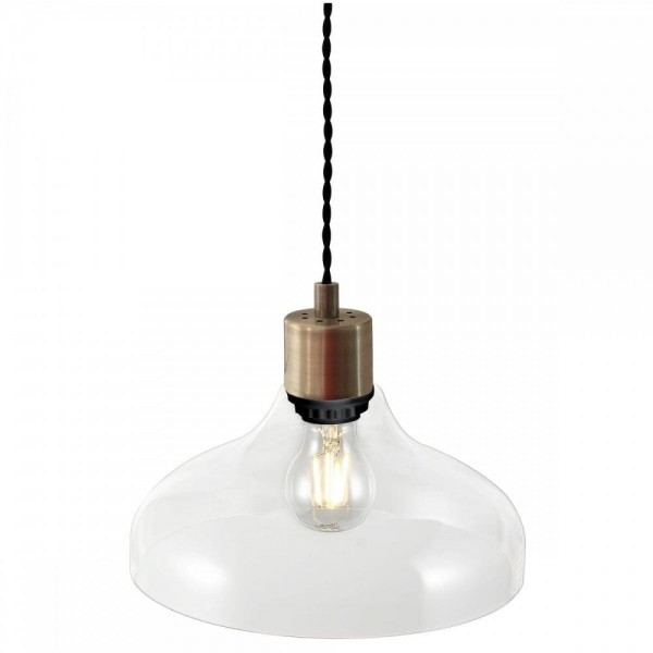 Nordlux Alrun 45263000 Clear Pendant Light