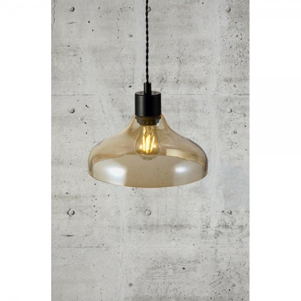 Nordlux Alrun 45263027 Amber Pendant Light