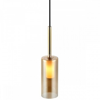 Nordlux Turid 45853027 Amber 8 Pendant Light
