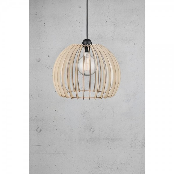 Nordlux 84843014 Chino 40 Wooden Pendant Light