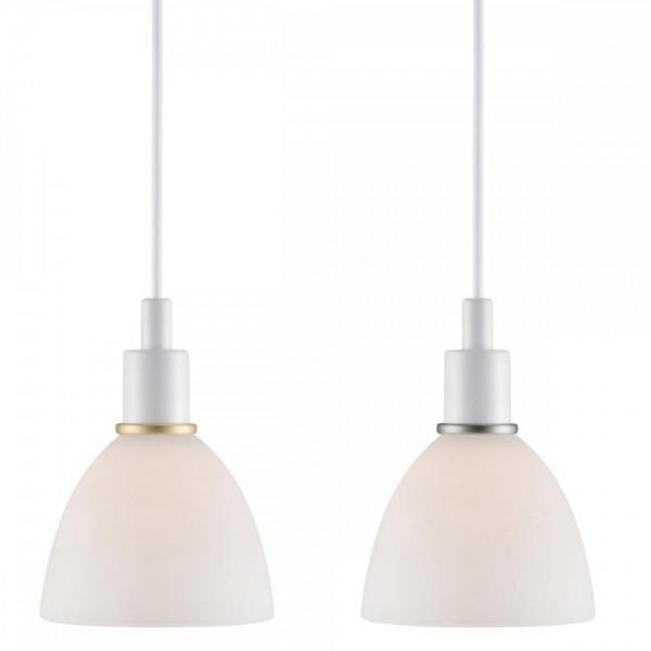 Nordlux 63233001 RAY 2-KIT White/Opal Glass Pendant Light