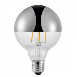 Nordlux Avra 1432070 Metallic Silver Bulb