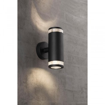 Nordlux Birk 45501003 Black Up/Down Wall Light