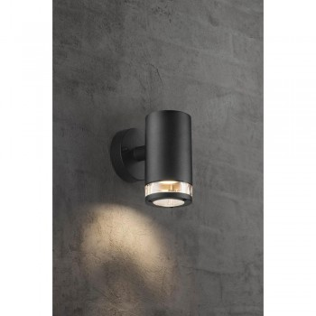 Nordlux Birk 45521003 Black Wall Light