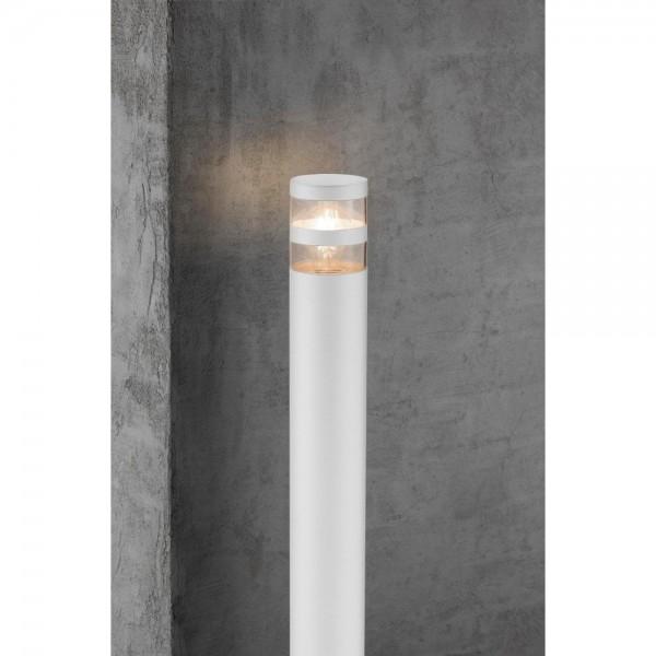 Nordlux Birk 45518001 White Garden Bollard Light