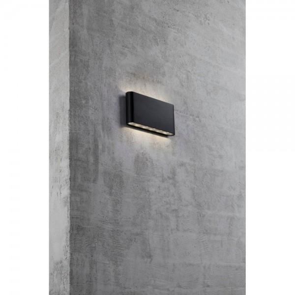 Nordlux Kinver 84181003 Black Outdoor Wall Light