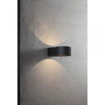 Nordlux Ring 83651003 Black Outdoor Wall Light