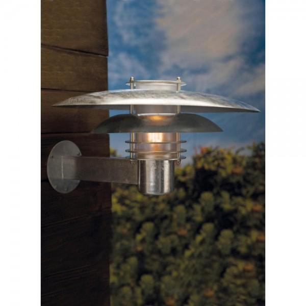 Nordlux Phoenix 24381031 Galvanized Steel Wall Light