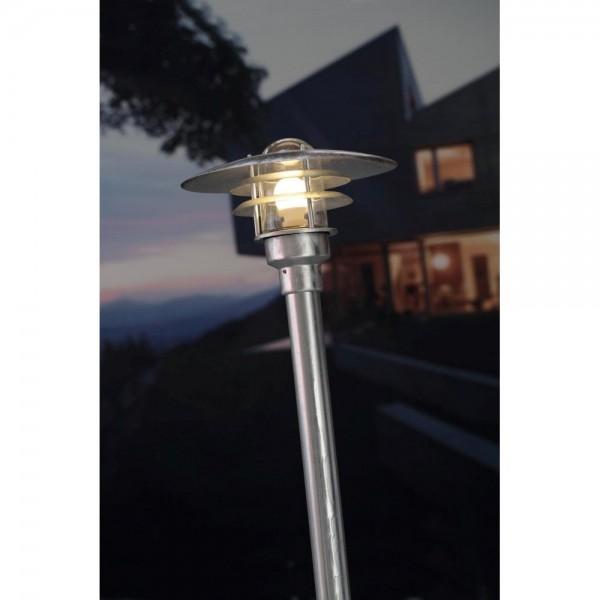 Nordlux 71428031 Lønstrup 32 Galvanized Steel Garden Light