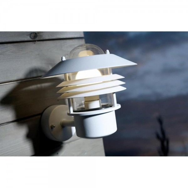 Nordlux Vejers 25091001 White Outdoor Wall Light