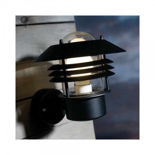 Nordlux Vejers 25091003 Black Outdoor Wall Light