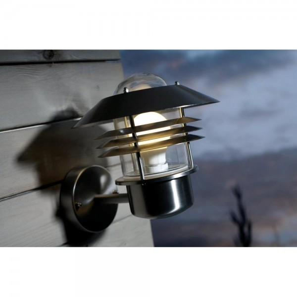 Nordlux Vejers 25091034 Stainless Steel Outdoor Wall Light