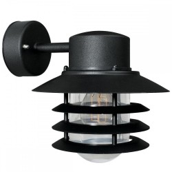 Nordlux Vejers Down 74471003 Black Outdoor Wall Light