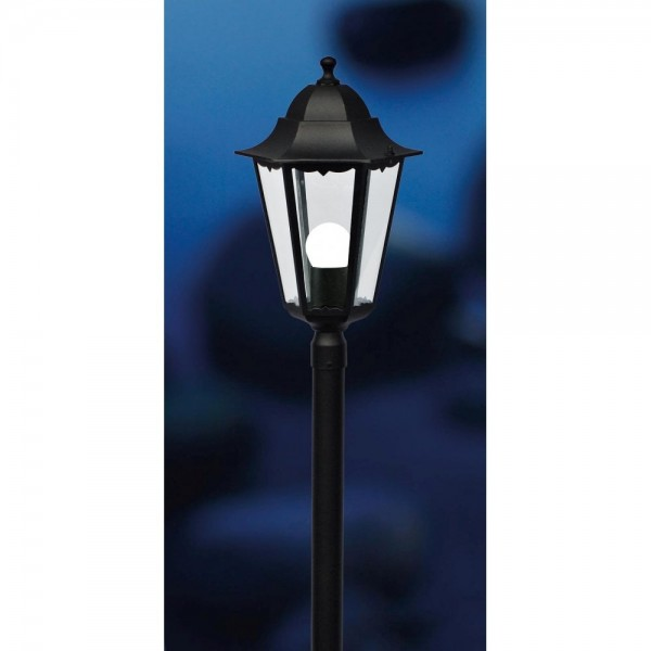 Nordlux Cardiff 74398003 Black Garden Pillar Lamp