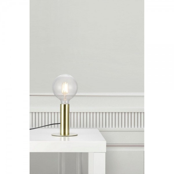 Nordlux Dean 46605025 Brass Table Lamp