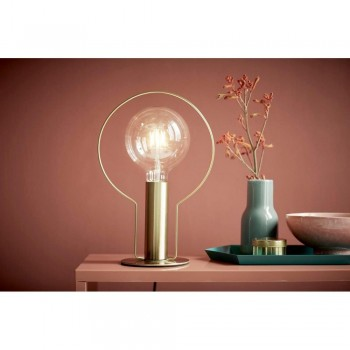 Nordlux Dean Halo 46615025 Brass Table Lamp