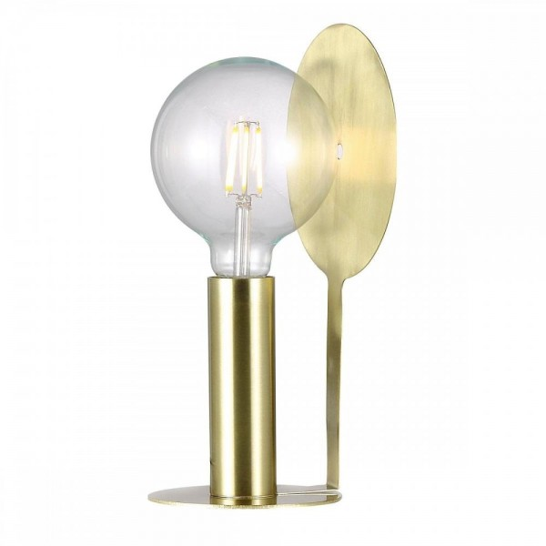 Nordlux Dean Disc 46625025 Brass Table Lamp